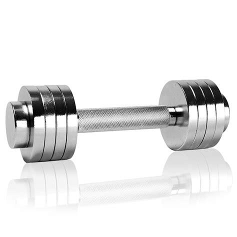 Jual Dumbbell Set Chrome chrome dumbbell set 2 x 2 5 kg best buy at sport tiedje