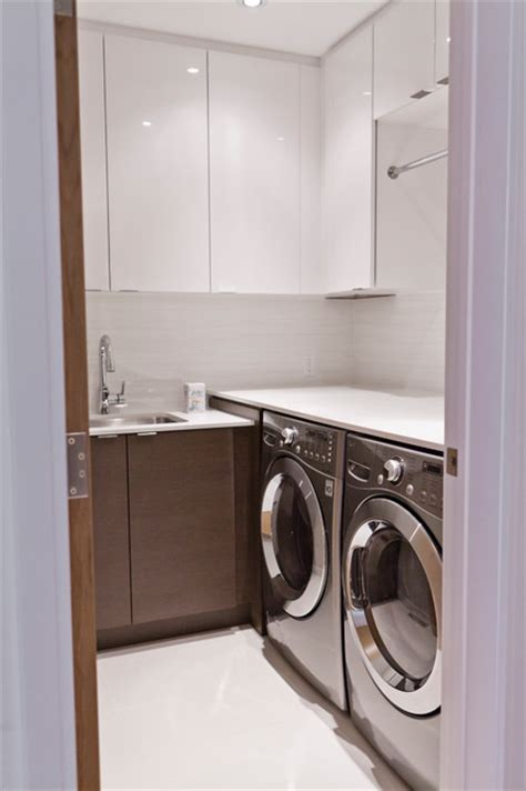 Modern Laundry Room Decor Modernist House Modern Laundry Room Toronto By Biglarkinyan Design Planning Inc