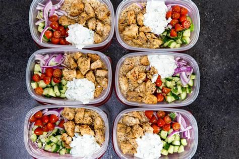 food prep meals greek chicken bowls meal prep easy easy peasy meals