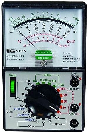 Multimeter Analog Kecil presentation name on emaze