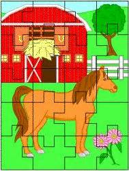 Free Printable Horse Jigsaw Puzzles | printable jigsaw puzzle