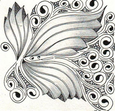 Zentangle Pattern Phicops | 1000 images about coloring pages on pinterest adult