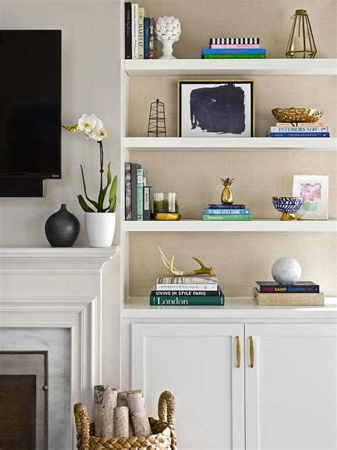 living room shelving unit living room storage cabinets white wall shelving with double door gold
