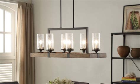 Overhead Kitchen Lighting Ideas by Top 6 Light Fixtures For A Glowing Dining Room Overstock Com