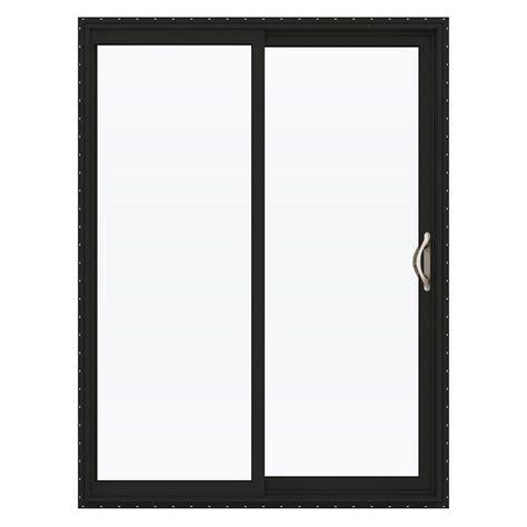 jeld wen patio doors reviews jeld wen 60 in x 80 in v 2500 series vinyl sliding low e