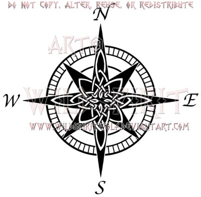 celtic compass tattoo designs tattoos on scorpio tattoos harry potter