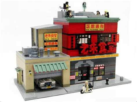 Lego Ghostbusters House by Lego Ideas Ghostbusters 2016 Headquarters Restaurant 21st Century Gadgets