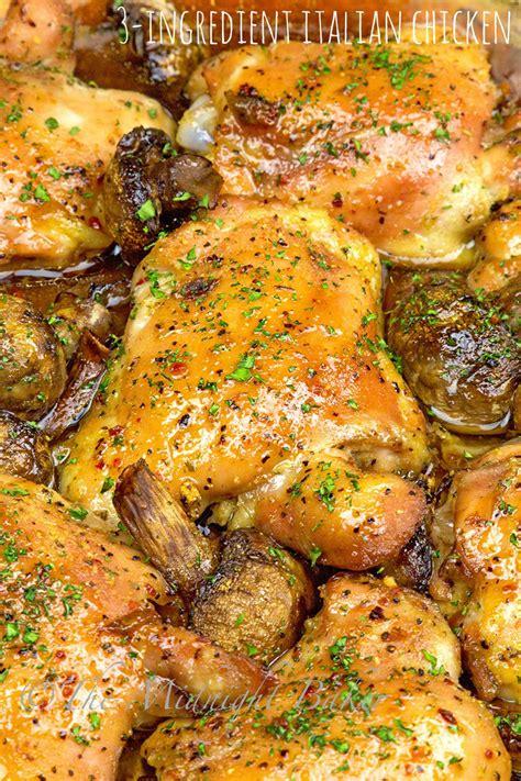 baked chicken breast recipes baked chicken breast italian dressing