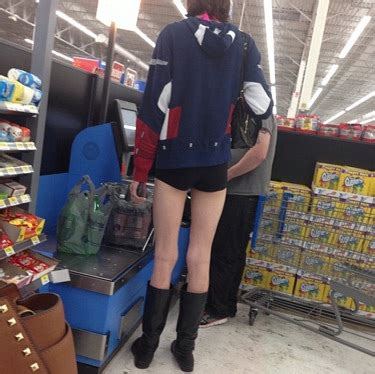 Legs Walmart with boots shorts and legs
