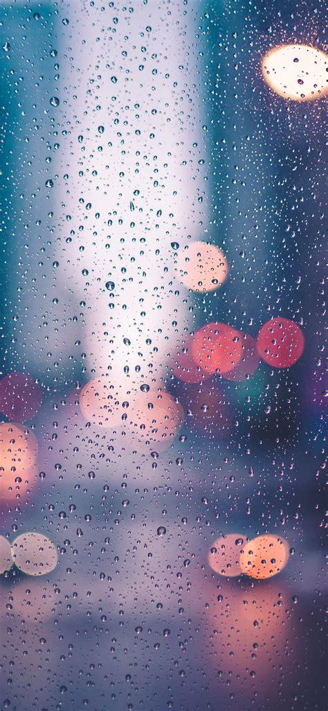 rain drops wallpaper  iphone  pro max