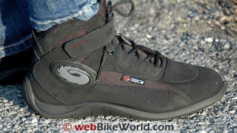 Sepatu Touring Sidi Doha Black sidi doha boots review webbikeworld