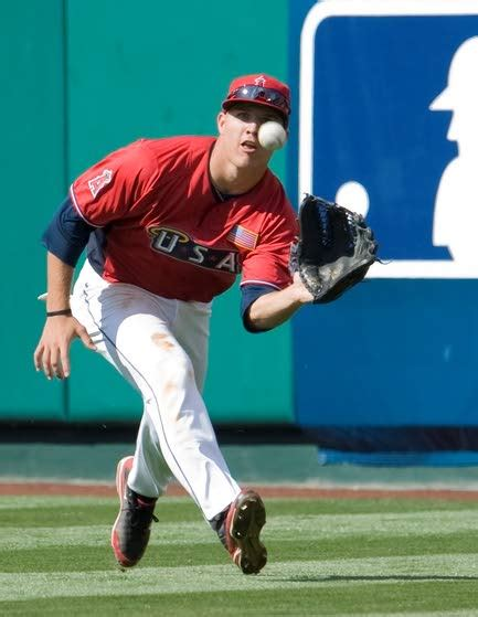 millville s mike trout to compete for team usa sports