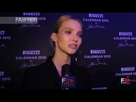 pirelli calendar 2015 by fashion channel youtube pirelli calendar 2015 interview to sasha luss 2015 by