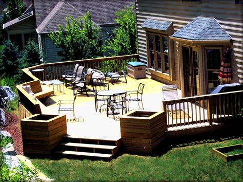 backyard decks and patios ideas lawn garden beautiful outdoor deck lighting ideas 11