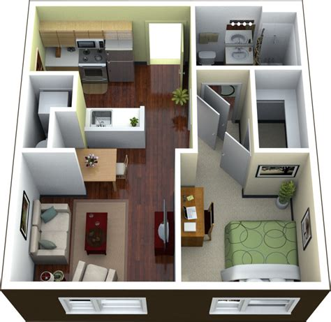 1 bedroom efficiency apartment planning studio apartment floor plans ideas 4 homes