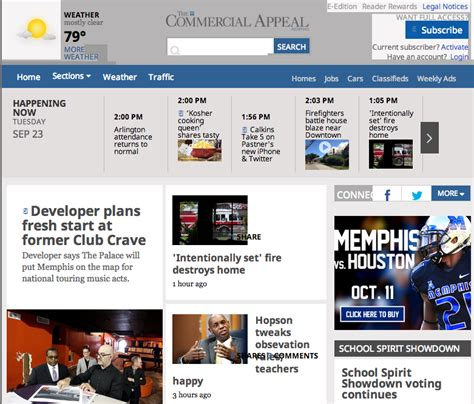 commercial appeal sports section update commercial appeal changes 17 laid off news blog