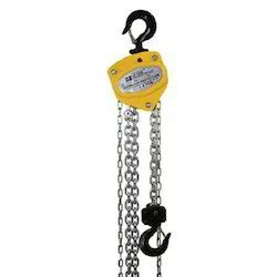 Tomeco 5 Ton X 3 Meter Chain Block Takel Model Triangle Hsz C chain pulley blocks morris chain pulley block manufacturer from ahmedabad