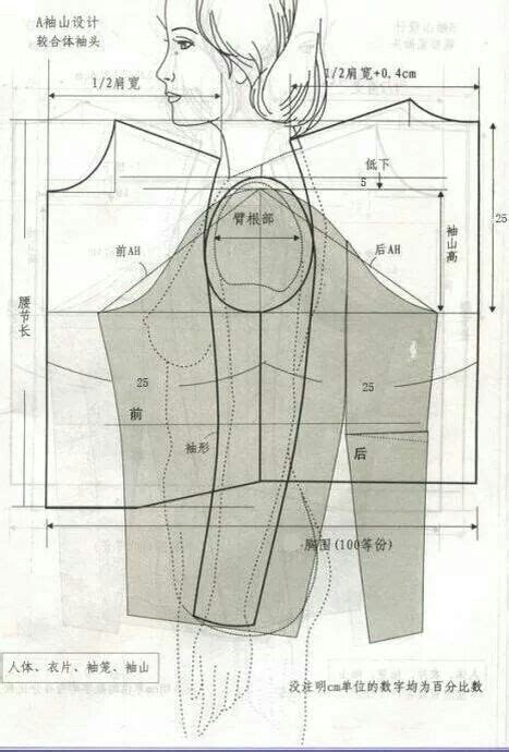 pattern drafting theory 48 best sleeves fat arms images on pinterest sewing