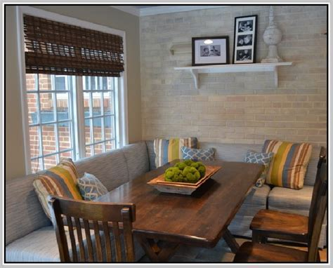 Curved Banquette Seating   Home Design Ideas