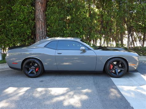 grey challenger 2017 dodge challenger destroyer gray hellcat ebay