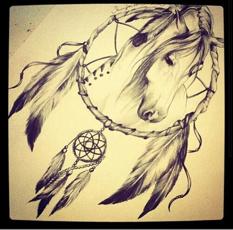 horseshoe dreamcatcher tattoo catcher with i am in with this my