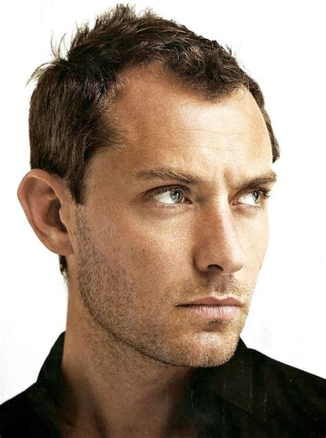 gq hairstyles receding jude law hair and beard pinterest english eyes and