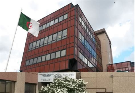 consolato algeria a prise des rendez vous et d 233 p 244 t de dossier de passeport