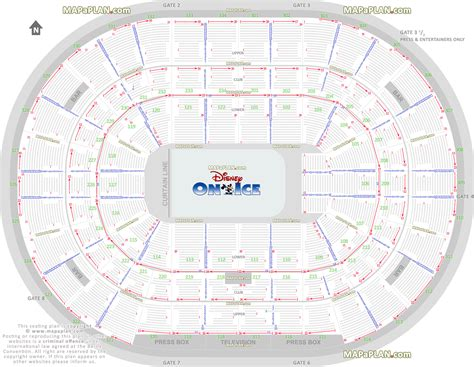 Target Center Floor Plan by Chicago United Center Disney On Ice Show Setup Review