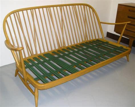 ercol settee hayloft mid century ercol windsor settee