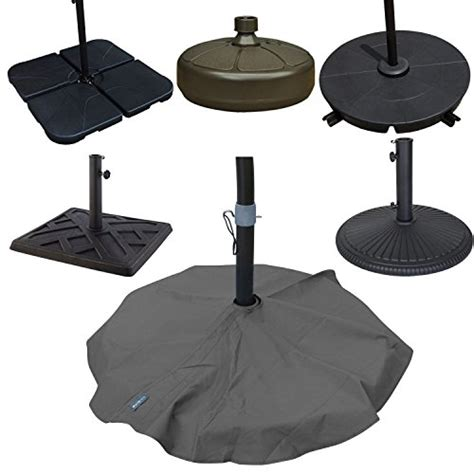 duraviva outdoor patio umbrella base stand weatherproof