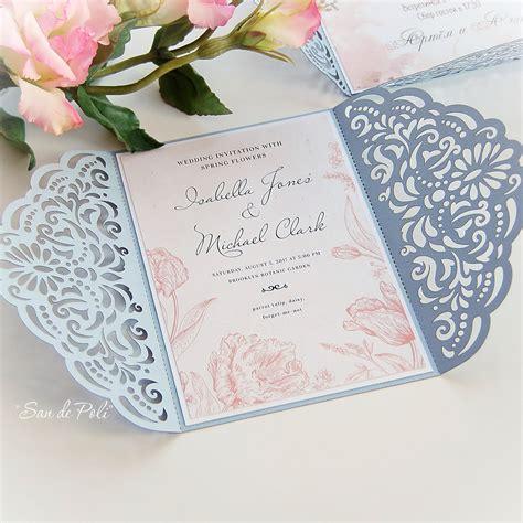 Hochzeitseinladungen Gestanzt by Wedding Invitation Template Filigree Svg Dxf Cdr