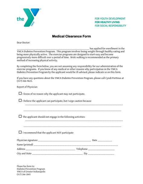 clearance form template clearance form templates free printable