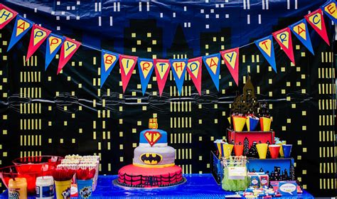 Home Decorating Games by Trace S 4 Year Old Superhero Birthday Party Simonemadeit