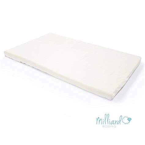 Memory Foam For Baby Crib by Milliard 2 Inch Ventilated Memory Foam Crib Toddler Bed