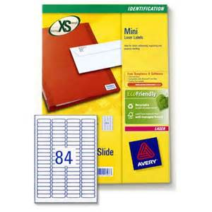 avery laser label templates avery laser mini labels 84 per sheet 46x11 1mm white