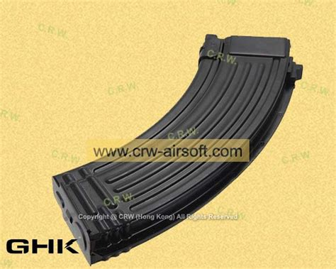 Ghk 40rd Gas Magazine For M4 Gbb Rifle 2 40rd co2 magazine for akm gbb by ghk