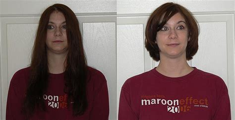 before and after picuters of long to short hair locks of love before and after view my blog at tgaw