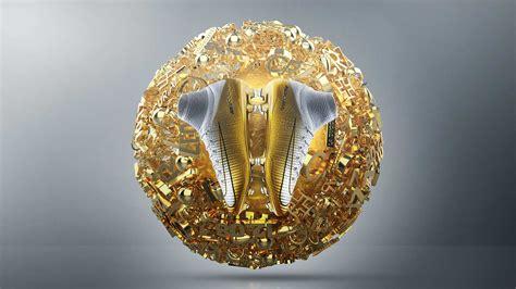 Balon Foil Silver Dan Gold spectacular nike mercurial superfly cristiano ronaldo quinto triunfo 2017 ballon d or boots