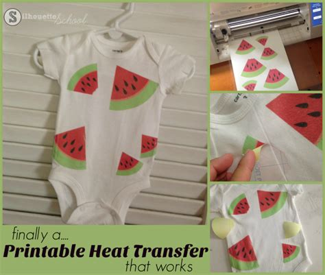 printable vinyl tutorial finally a printable heat transfer paper i love to use