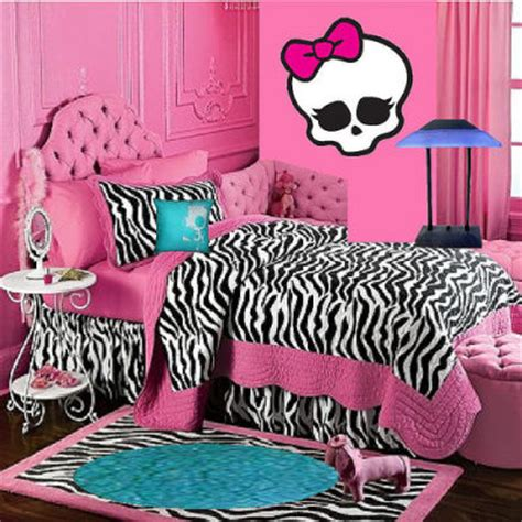 monster high bedroom monster high room decor ideas for kids room