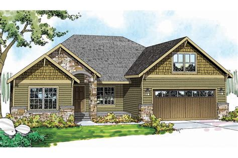 Craftsman Houseplans Craftsman House Plans Cascadia 30 804 Associated Designs