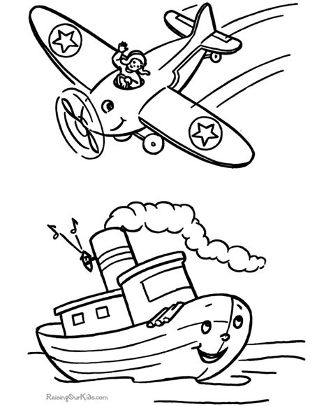 boat coloring pages for toddlers boat coloring pages for kids coloring home