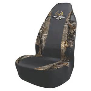 Universal Seat Covers For Trucks Realtree Universal Seat Cover Ap Camo Walmart