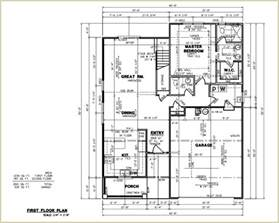custom home blueprints sle floor plans home interior design ideashome