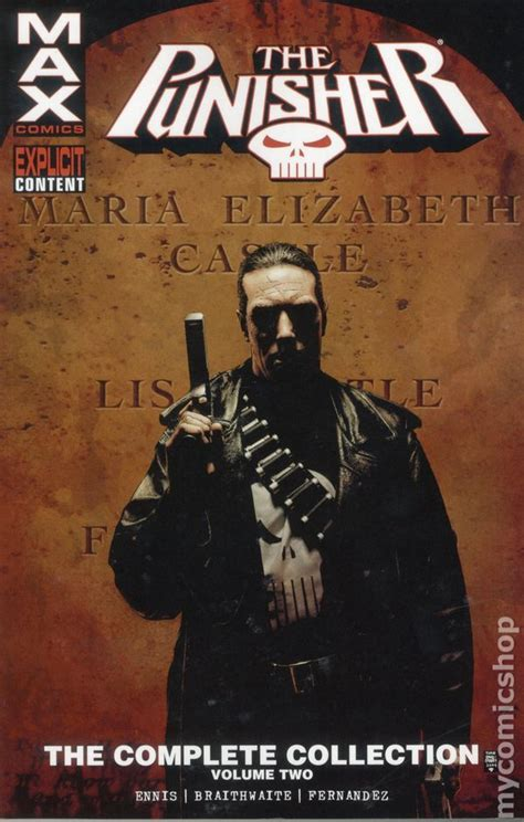 punisher max the complete punisher max tpb 2016 marvel the complete collection comic books