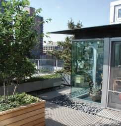 penthouse terrace modern terrace garden at greenwich penthouse in new york