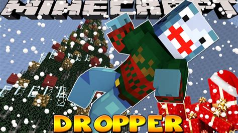 minecraft christmas tree map minecraft the tree dropper custom map