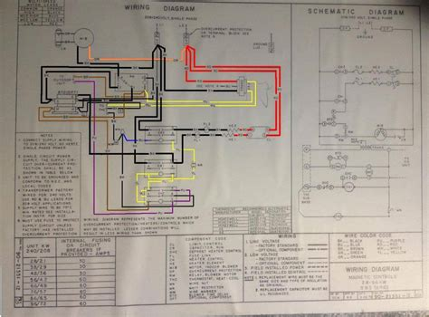 rheem rhll wiring diagram rheem package unit wiring