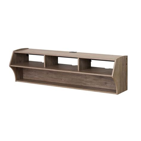 altus plus 58 quot floating tv stand in drifted gray dcaw 0208 1