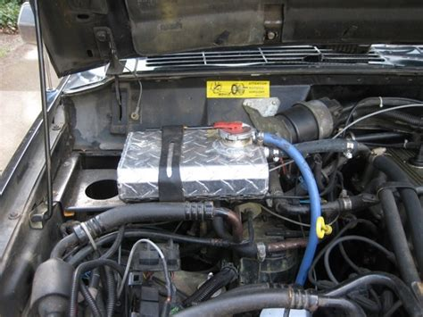 1990 Jeep Coolant Reservoir 1990 Jeep Xj 4 0l Manual Trans Coolant Container